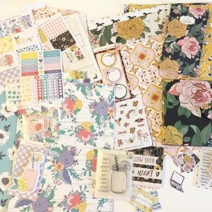 The Planner Society April & June 2017 Partial Kits